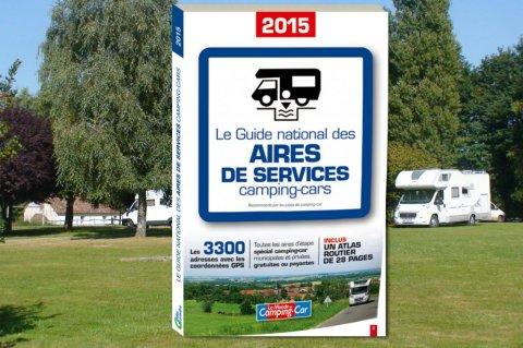 le guide des aires de services pour camping cars 2015 est. Black Bedroom Furniture Sets. Home Design Ideas