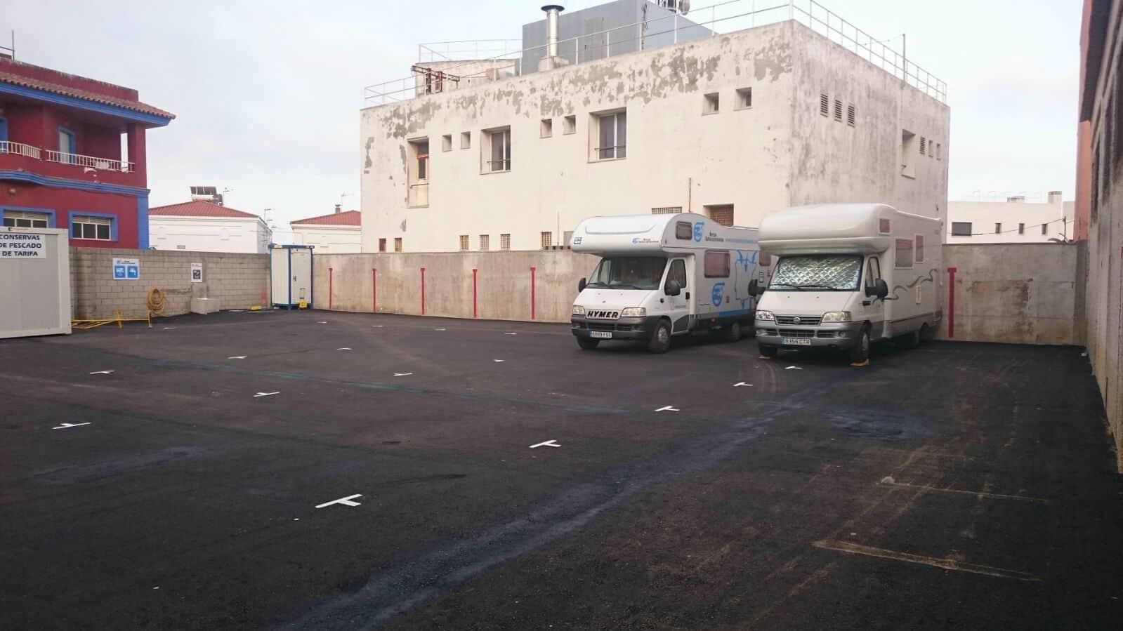 Nueva Área de Autocaravanas en Tarifa