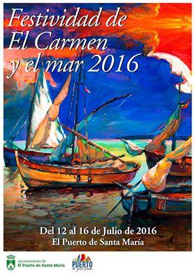 FIestas del Carmen en el Puerto de Santa María