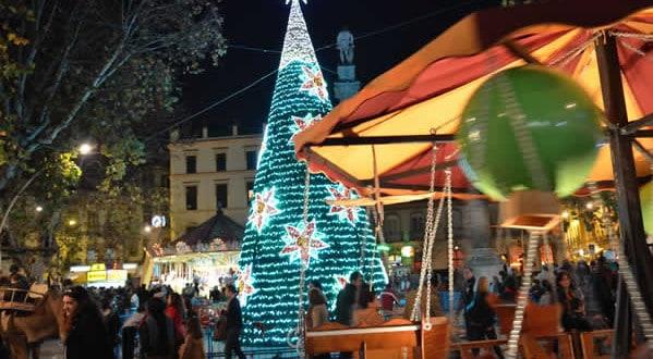Mercado de Navidad en Sevilla