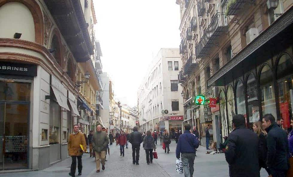 Sevilla shopping o de tiendas por Sevilla..