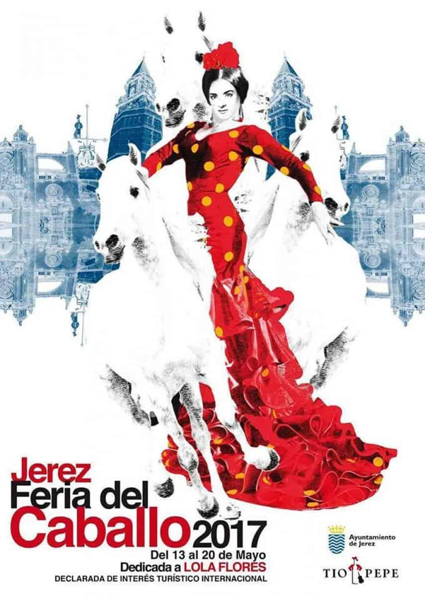 Feria del Caballo de Jerez dedicada a Lola Flores