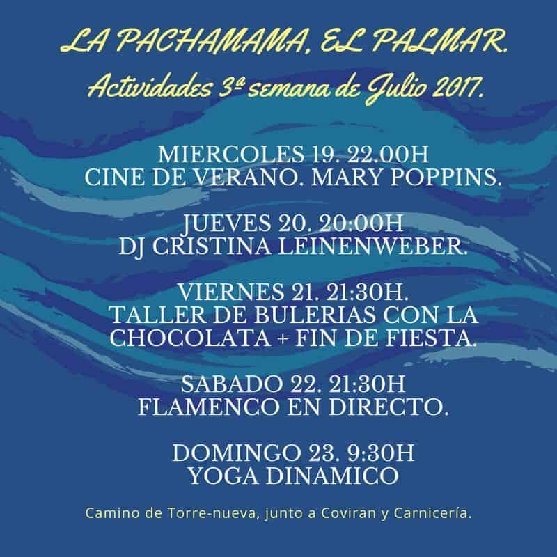 Non seulement la zone de rv, les activités dans La Pachamama