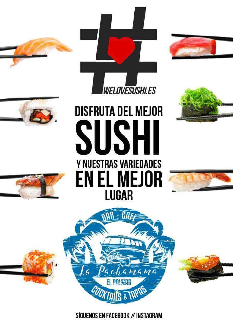 Disfruta del mejor Sushi en el mejor lugar