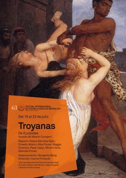 63 Festival de théâtre classique: «Troyanas»