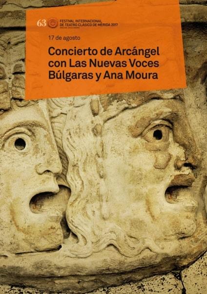 """63 Festival de Théâtre Classique: """"un Concert de l'Archange avec La Nouvelle Voix bulgares, et d'Ana Moura"""""""