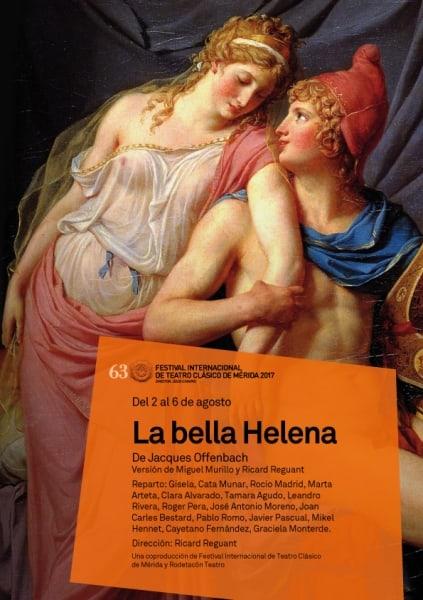 """63 Festival de Théâtre Classique: """"La belle Hélène"""""""