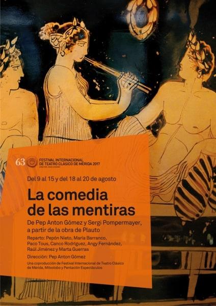 """63 Festival de Théâtre Classique: """"La comédie de mensonges"""""""