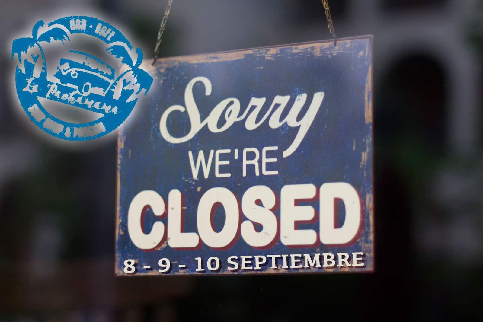 Le Domaine de La Pachamama ferme les 8, 9 et 10 septembre par l'amélioration de ses installations