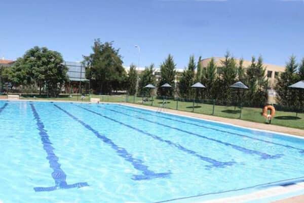 Stationnement pour camping-cars Théâtre romain de Mérida, avec piscine à proximité