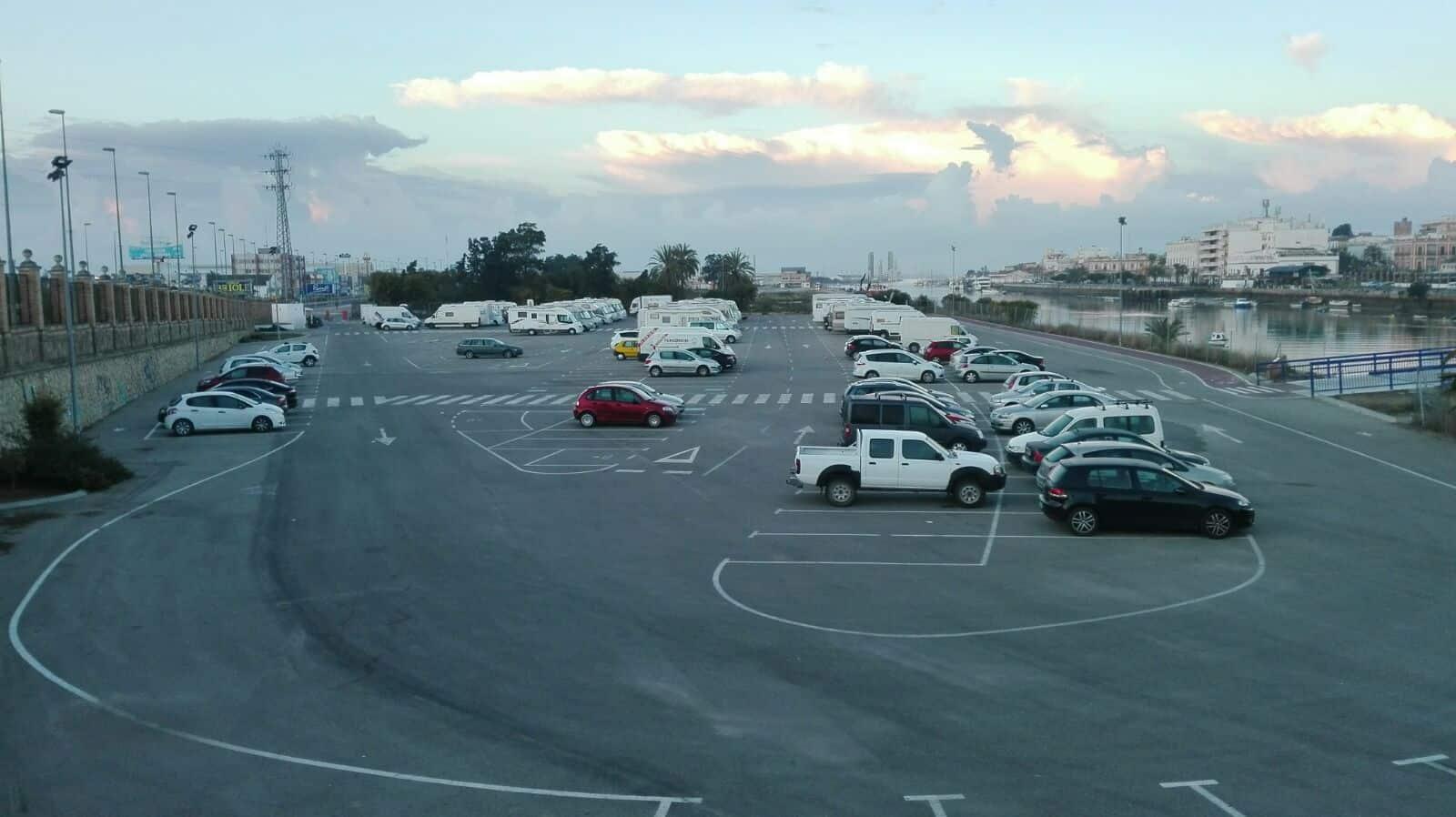 Area autocaravanas El Puerto de Santa María