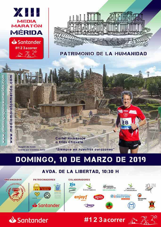 XIII Médias Marathon de Mérida Patrimoine de l'Humanité