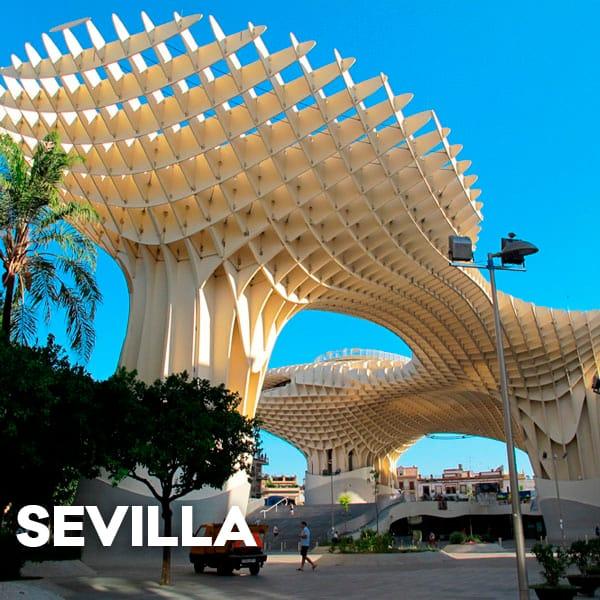 Área de autocaravanas Sevilla