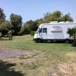 Espaces camping-car Valdevaqueros.Tarifa. Cadix