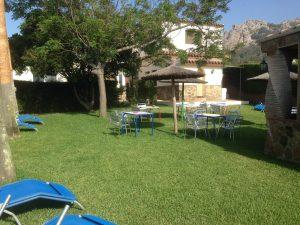 camping jardín bolonia