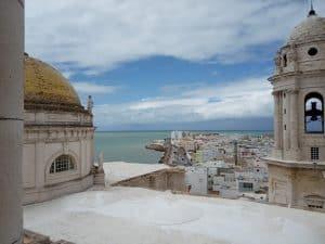Vista aérea Catedral de Cádiz