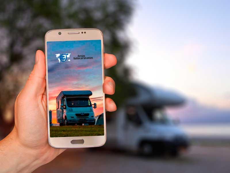 La App de Áreas Autocaravanas supera las mil descargas tras su lanzamiento