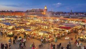 Marocco camper