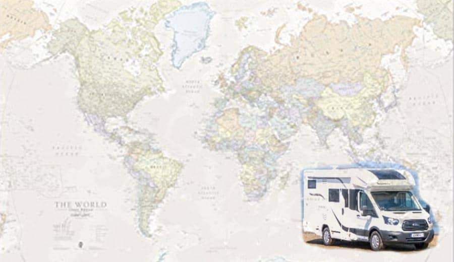 Back to the world Camper
