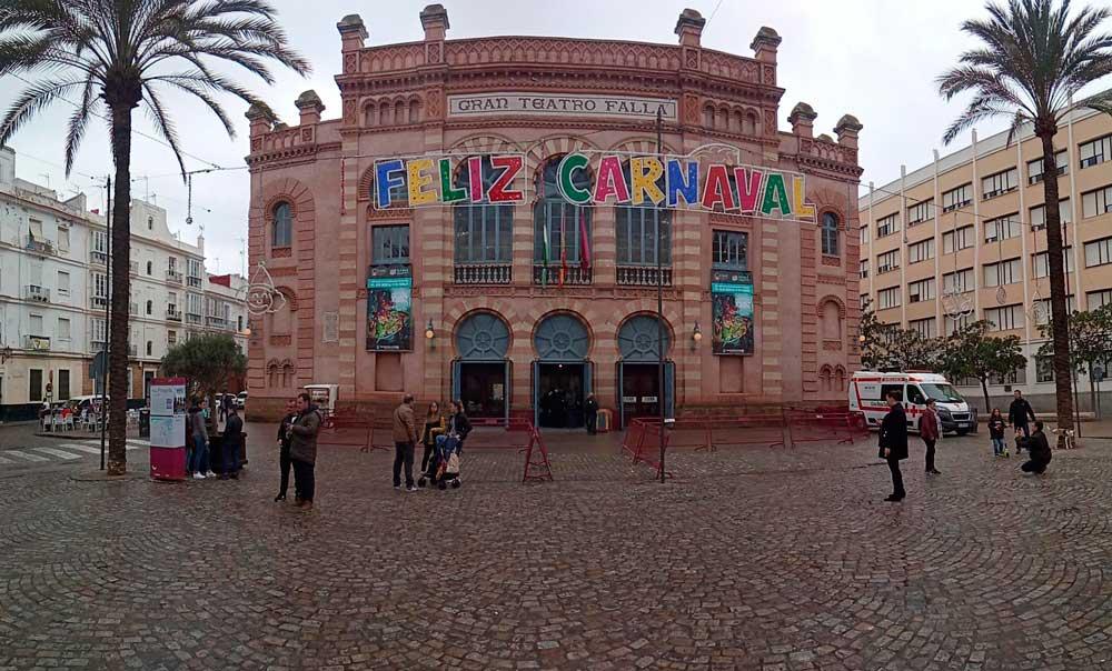 Vive el Carnaval de Cádiz con tu autocaravana