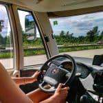 Viagem segura de motorhome