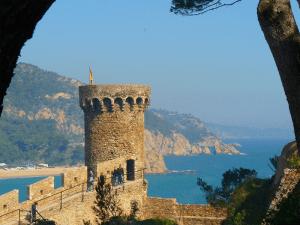 Castillo de San Juan, en Lloret de Mar