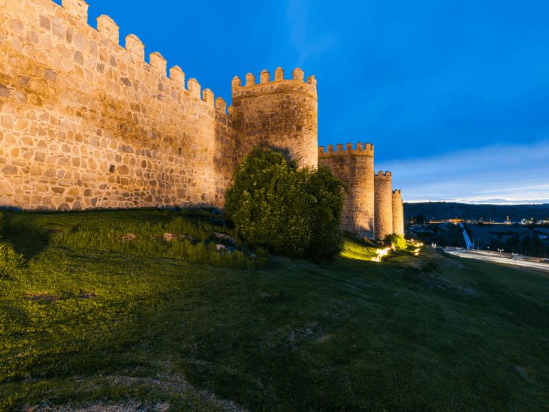 Ávila Patrimonio de la humanidad en España