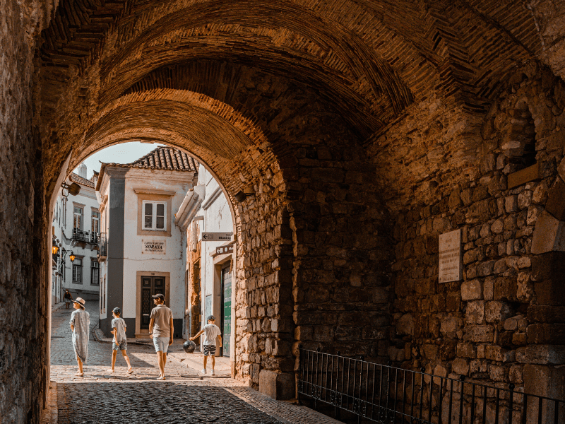 Faro, a city steeped in history in southern Portugal